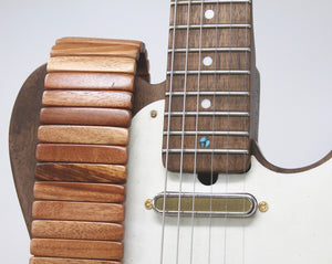 Tigerwood Solano Guitar Strap