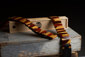 Cocobolo Revo Guitar Strap (Only available to Cocobolo Insiders)