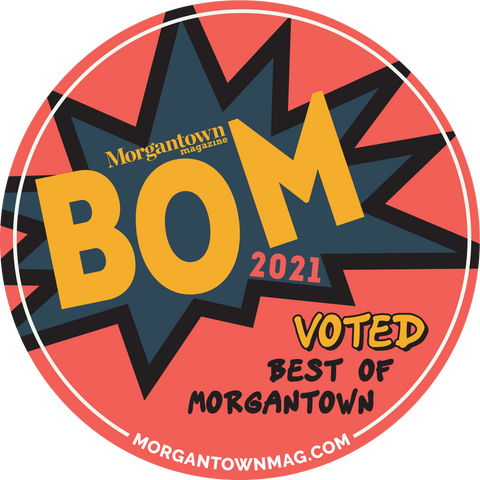 Best of Morgantown 2021 Winner Sticker