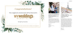 WV Weddings Engagement Announcement Gift Card