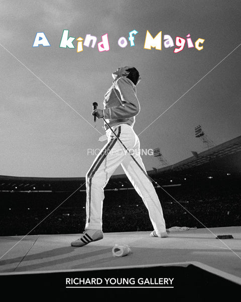 A Kind of Magic: A Celebration of Freddie Mercury's 70th Birthday exhibition catalogue