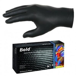 Black Nitrile Gloves - Steri-Studio Tattoo Supply Montreal fourniture de tatouage