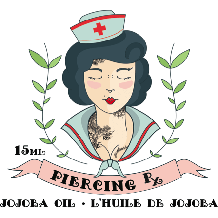 Piercing Rx Jojoba Oil - Steri-Studio Tattoo Supply Montreal fourniture de tatouage