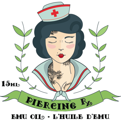 Piercing Rx Emu Oil - Steri-Studio Tattoo Supply Montreal fourniture de tatouage