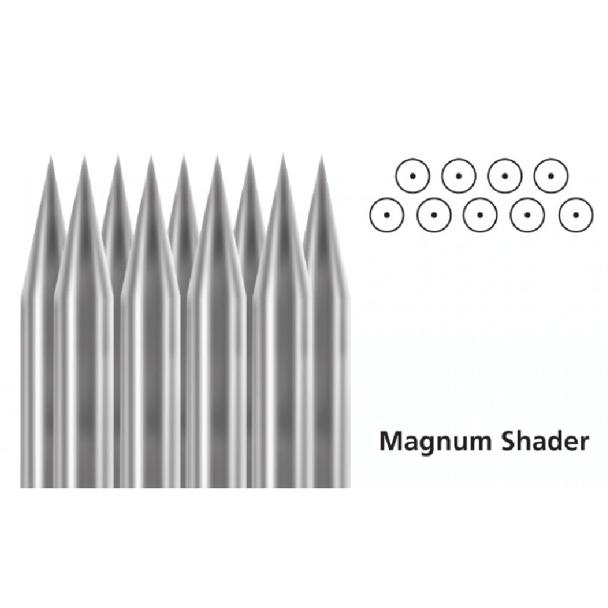 Tattoo Needles Stacked Magnum - Steri-Studio Tattoo Supply Montreal fourniture de tatouage