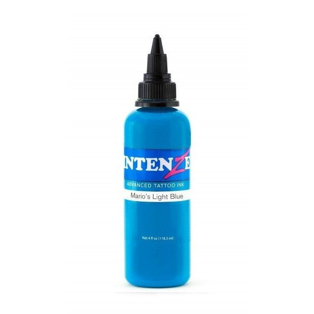 Intenze Inks Mario's Light Blue - Steri-Studio Tattoo Supply Montreal fourniture de tatouage