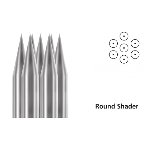 Tattoo Needles Round Shader - Steri-Studio Tattoo Supply Montreal