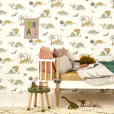 Dinosaurs wallpaper by Hibou Home