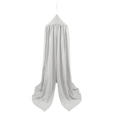 Linen Canopy - Silver Grey