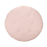 Quilted Linen Playmat - Powder Pink