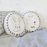 Portraits cushion - Rabbit