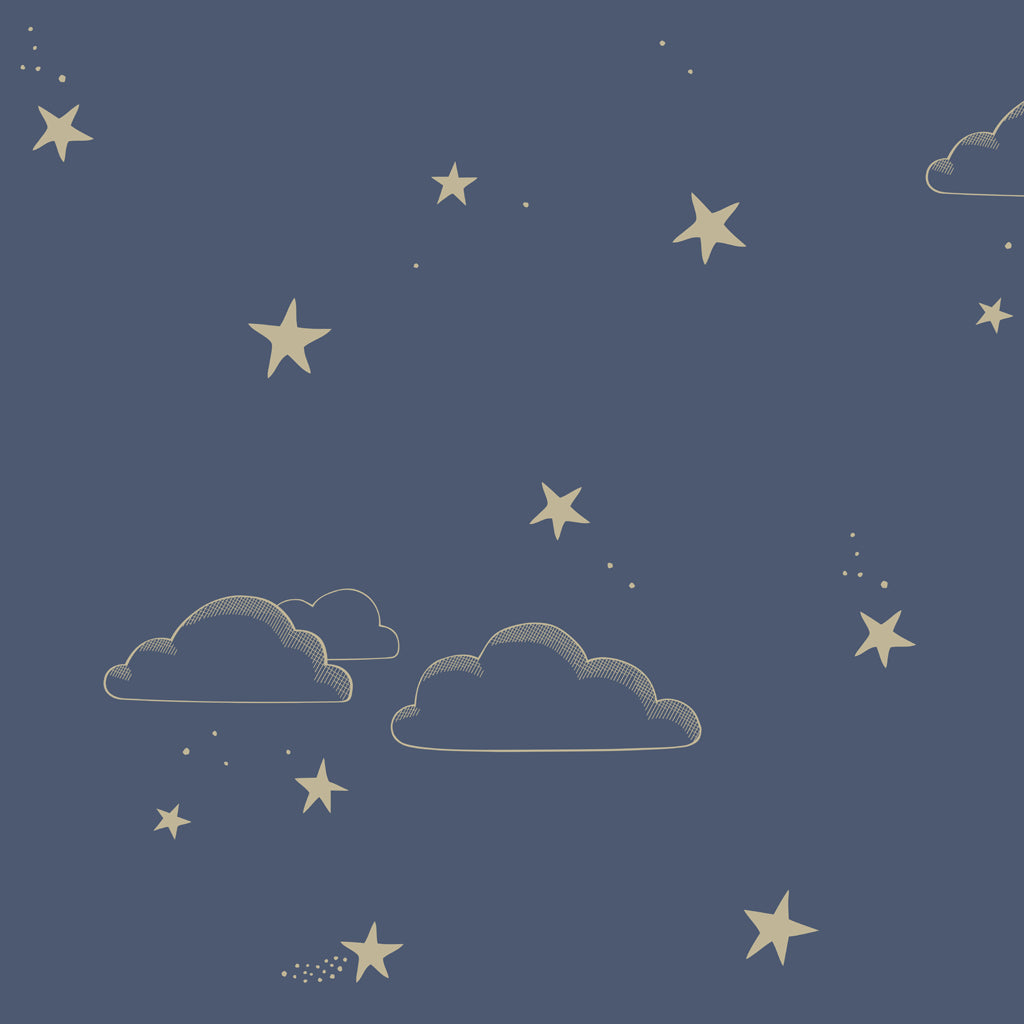 Starry Sky Wallpaper Hibou Home
