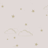 Starry Sky wallpaper - Pale Rose / Gold