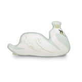Swan cushion - Mint