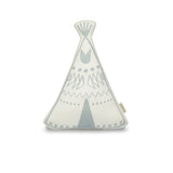 Teepee cushion - Green