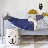 Bear Face Fabric Storage Bag