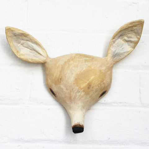 Deer Paper Mâché Animal Head