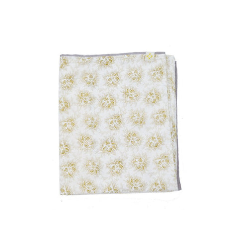 Spot Floral Golden Duvet Cover