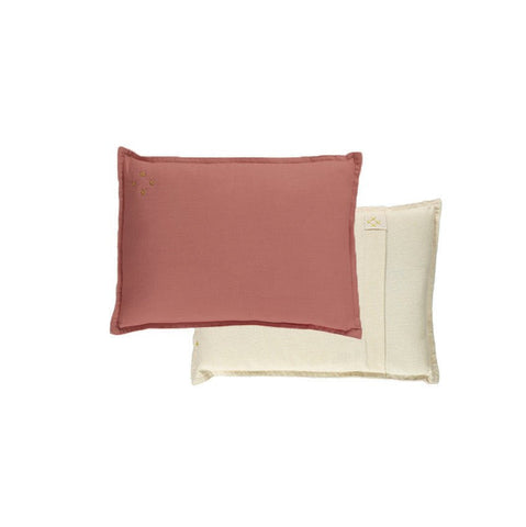 Reversible Two Tone Cushion - Rose