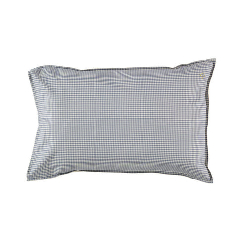 Gingham pillow case