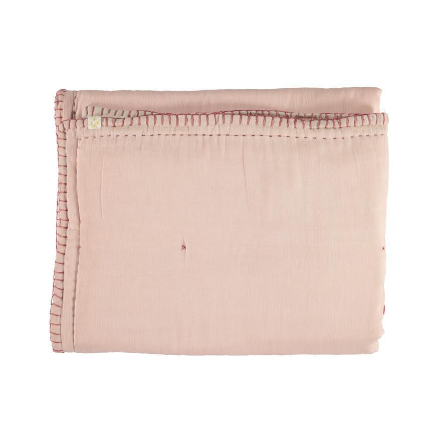 Reversible Cotton Quilt - Pink