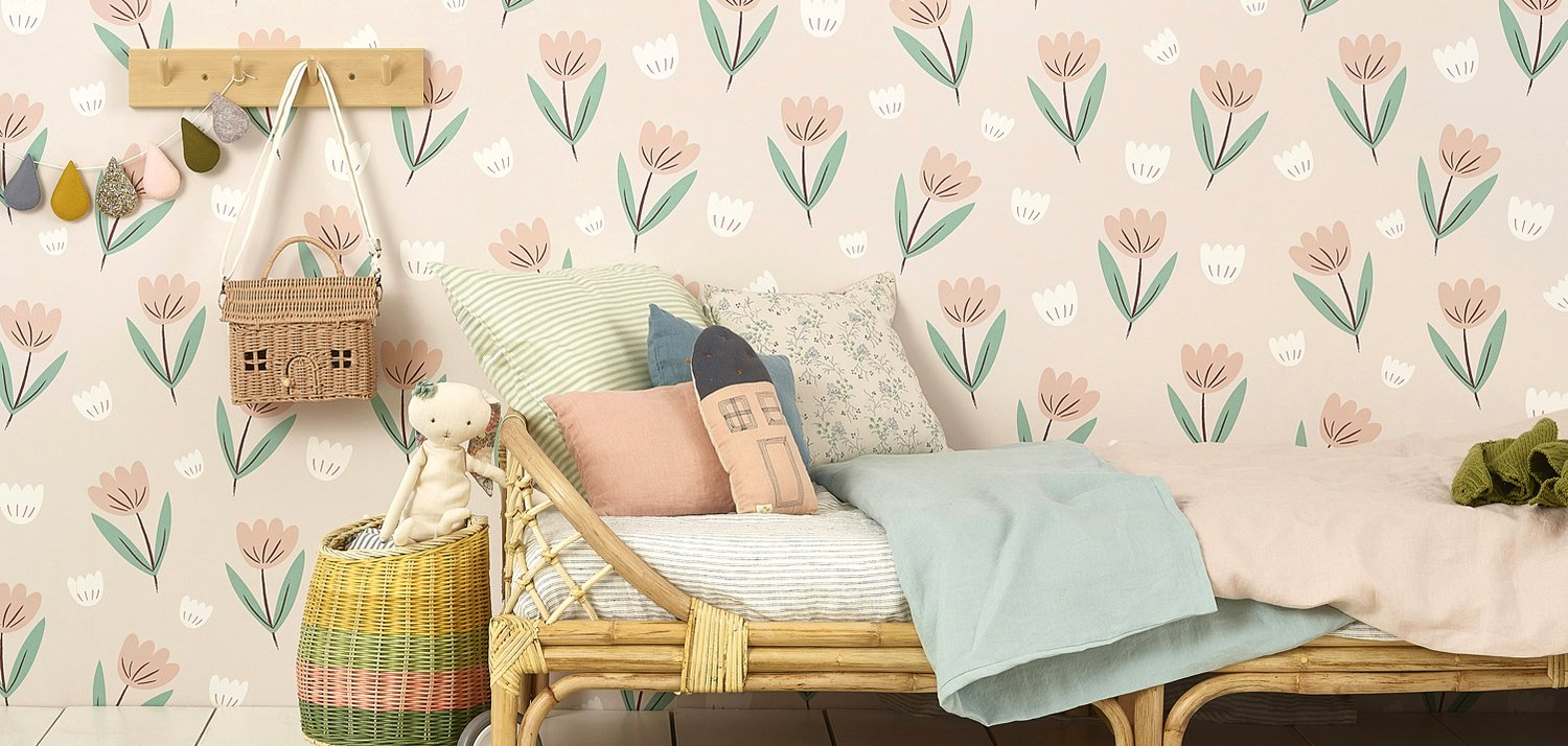 Rainbows wallpaper by Hibou Home
