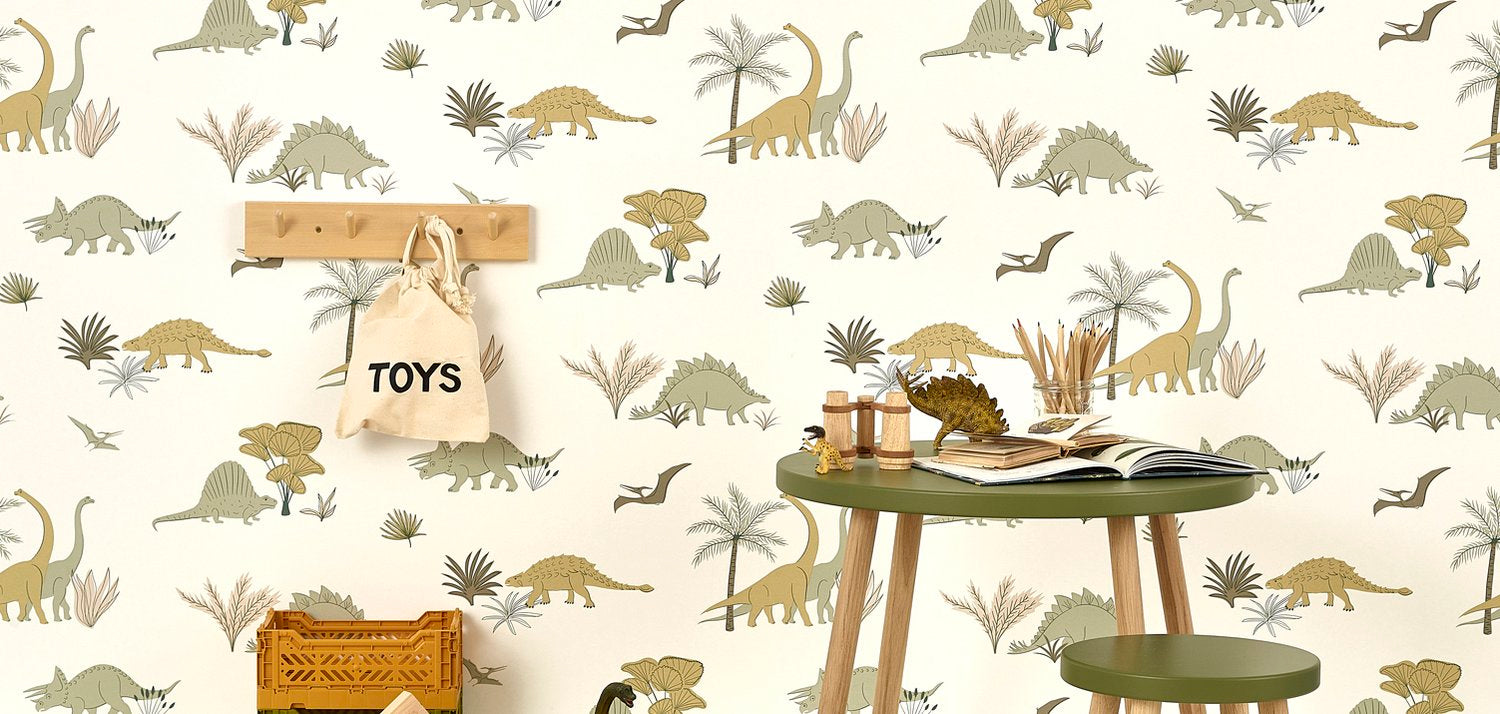 Portraits wallpaper by Hibou Home