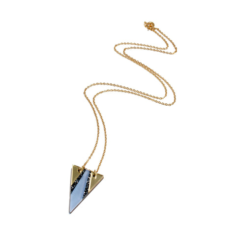 Airola Necklace - Lavender Blue