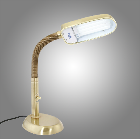 Bronze 42 watt full spectrum desk lamp