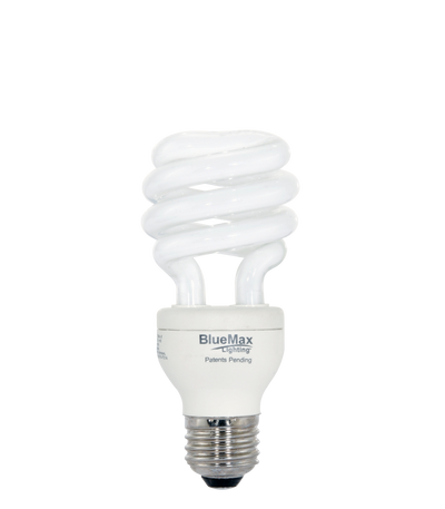 BlueMax™ 19w Spiral CFL Bulb, Replaces 75w incandescent
