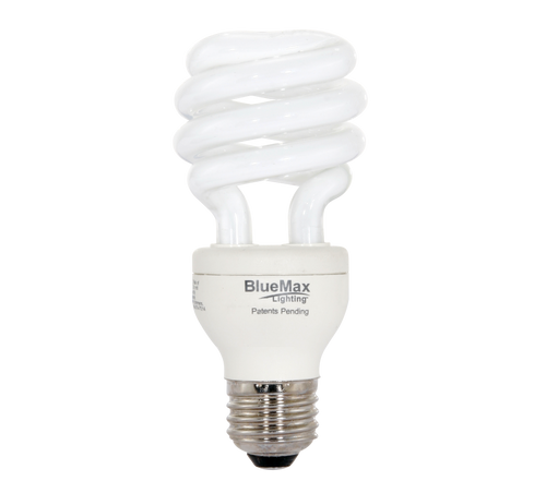 BlueMax™ 23w Spiral CFL Bulb, Replaces 100w incandescent