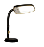 Black 70 watt full spectrum desk lamp for light therapy