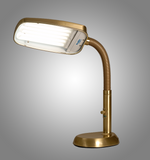 Bronze 70 watt full spectrum desk lamp for light therapy