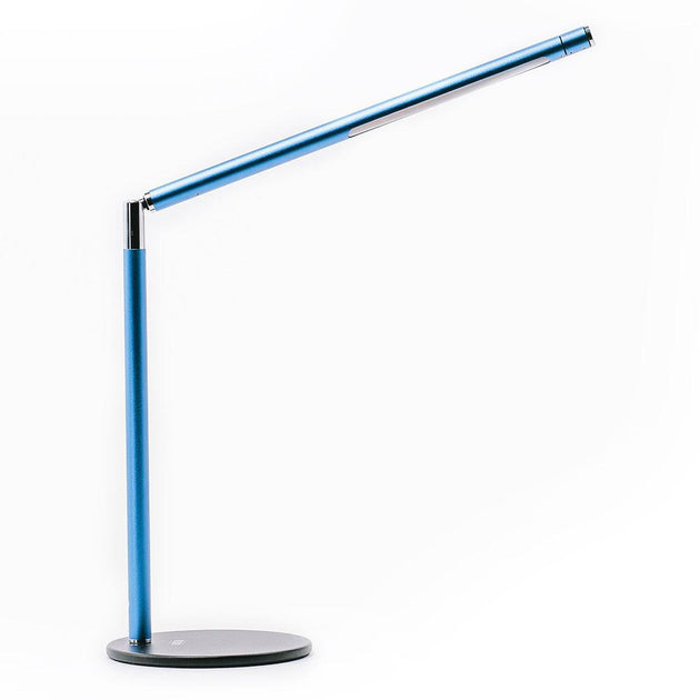 Armory Blue LED Desk Lamp