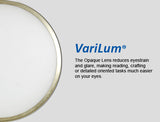 VariLum 30w Dynamic Color LED Desk Lamp