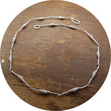 Granule Necklace - silver