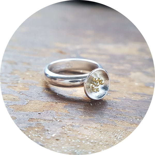 Granulated Cup Ring