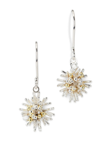 Sea Urchin Earrings - drops