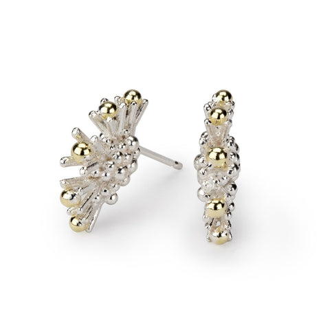 Sea Urchin Linear Earrings
