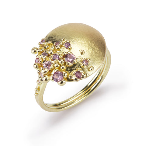 Adorn Pink Sapphire Ring