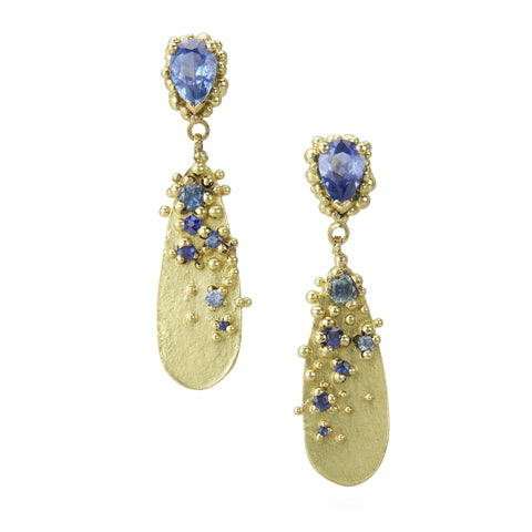 Adorn Sapphire Drop Earrings