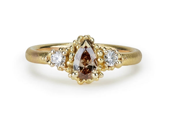 48. Champagne Diamond Ring