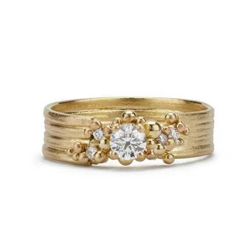 Spindrift Diamond Ring