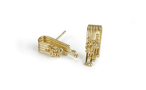 Tide Gold Earrings