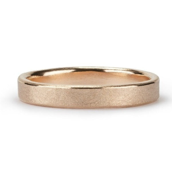 Wave Ring - 14ct yellow gold