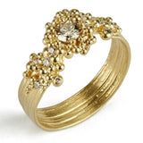 Whorl Diamond Ring
