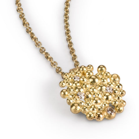 Diamond Berry Pendant
