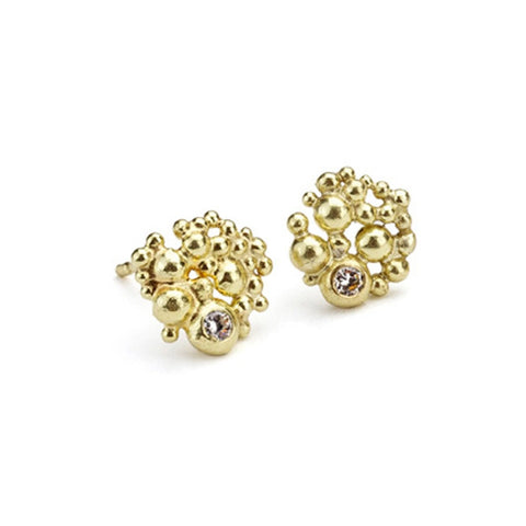 Diamond Berry Earrings