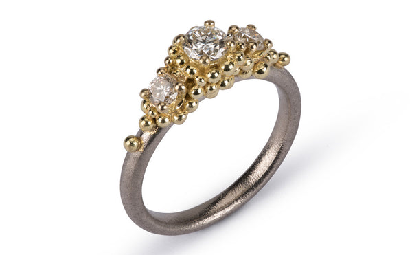 34. Champagne Diamond Ring