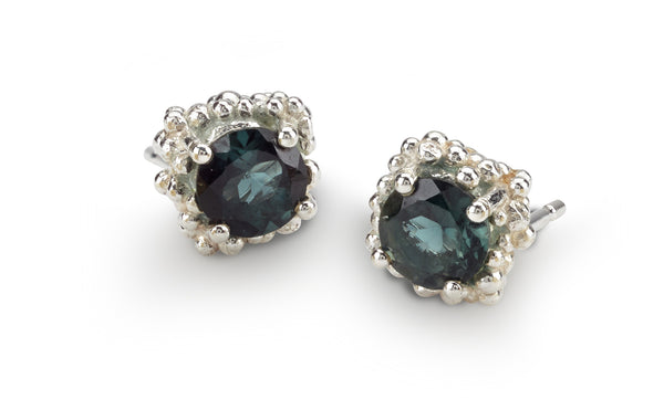Cluster Earrings Large - tourmalines